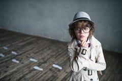 Junge im Studio lizenzfreie stockfotografie