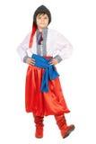 Junge im ukrainischen nationalen Kostüm Lizenzfreie Stockfotografie
