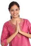 Junge indische Frau Stockbild