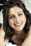 Junge indische Frau Stockfotografie