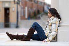 Junge indische Frau Lizenzfreie Stockbilder