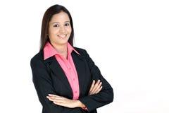 Junge indische Geschäftsfrau lizenzfreie stockfotos