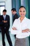 Junge indische Geschäftsfrau Lizenzfreie Stockbilder