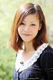 Junge japanische Frau Lizenzfreies Stockbild