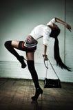 Junge japanische Frauenart und weise Lizenzfreies Stockbild