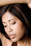 Junge kambodschanische Frau Stockbild
