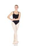 Junge kaukasische Ballerina stockfotos