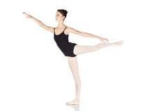 Junge kaukasische Ballerina lizenzfreies stockbild