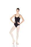 Junge kaukasische Ballerina Stockfoto