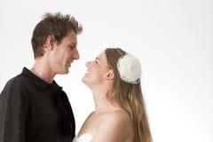 Junge kaukasische Paare Lizenzfreies Stockfoto