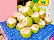 Junge Kokosnuss Lizenzfreies Stockbild