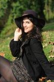 Junge Latina-Frau Stockfoto