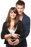 Junge lächelnde Paare Lizenzfreie Stockfotografie