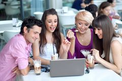 Junge Leute Lizenzfreie Stockfotos