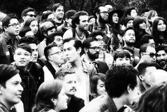 Junge Leute glücklich Lizenzfreies Stockfoto