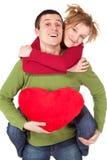 Junge liebevolle Paare Lizenzfreie Stockfotos