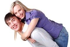 Junge liebevolle Paare Lizenzfreie Stockbilder