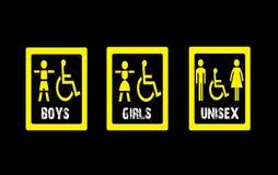 Junge-Mädchen-Unisexhintergrunddesign Lizenzfreies Stockfoto