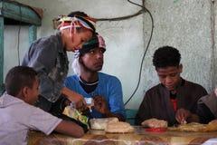 Junge Männer in Ägypten Lizenzfreie Stockbilder