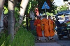 Junge Mönche Stockbild