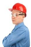 Junge manuelle Arbeitskraft stockfotos