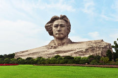 Junge Mao Tse Tungs-Statue Stockfotos