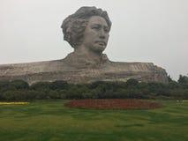 Junge Mao Zedong-Statue Changsha Lizenzfreies Stockfoto