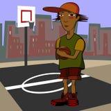 Junge mit Ball Stockfotos