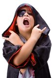 Junge mit Dracula-Verkleidung 2 Stockfoto