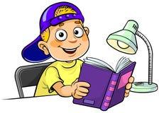Junge mit einem Buch vektor abbildung
