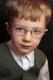 Junge mit Gläsern Lizenzfreies Stockbild
