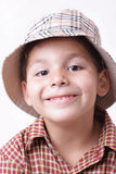 Junge mit Hut Stockfotos