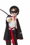 Junge mit Karnevalskostüm Lizenzfreies Stockfoto