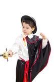 Junge mit Karnevalskostüm Lizenzfreies Stockbild
