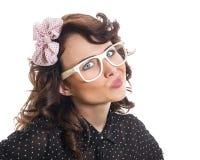 Junge modische Frau Lizenzfreie Stockfotografie