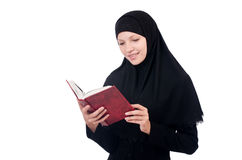 Junge moslemische Frau Stockfotografie