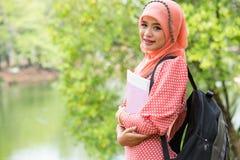 Junge moslemische Frau Lizenzfreies Stockfoto