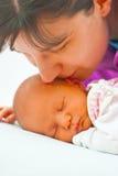Mutter mit Baby lizenzfreies stockfoto
