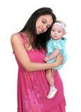 Junge Mutter und Tochter Lizenzfreies Stockbild