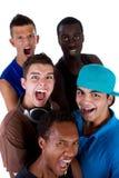 Junge neue Gruppe Hüftejugendliche. Stockfotografie