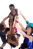 Junge neue Gruppe Hüftejugendliche. Lizenzfreies Stockbild