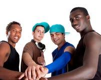Junge neue Gruppe Hüftejugendliche. Lizenzfreies Stockfoto