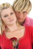 Junge Paare. Lizenzfreies Stockfoto