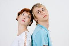 Junge Paare   Stockbild