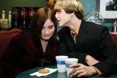 Junge Paare stockfoto