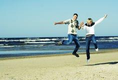 Junge Paare. Lizenzfreie Stockbilder