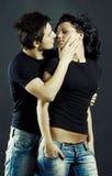 Junge Paare in der Liebe Stockfotografie