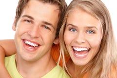 Junge Paare in der Liebe Lizenzfreie Stockfotografie