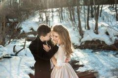 Junge Paare in der Liebe Lizenzfreie Stockbilder