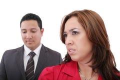 Paare, die Argument haben Lizenzfreie Stockfotografie